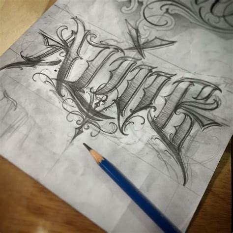 tattoo letters gangster style 29 best images about tattoo lettering on pinterest fonts