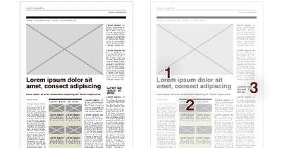 layout halaman majalah halaman blogger seperti majalah atau koran jelas in blog
