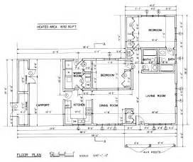 Ranch Style Floor Plan by Free Ranch Style House Plans With 2 Bedrooms Ranch Style