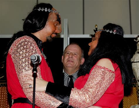 trek fans in uk s klingon ceremony - Klingon Wedding Blessing