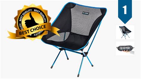 lightweight backpacking chair the 5 best lightweight backpacking chairs of 2017