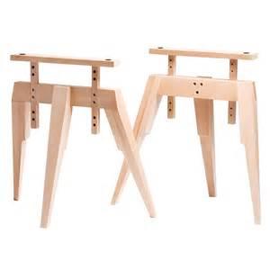 Trestle Leg Desk Compass Trestle Legs Beech Matthew Hilton Horne