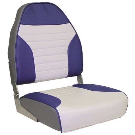 wise high back boat seat with logo boat back to back seat covers velcromag