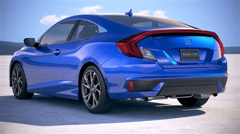 2019 Honda Civic Coupe by Honda Civic Coupe 2019
