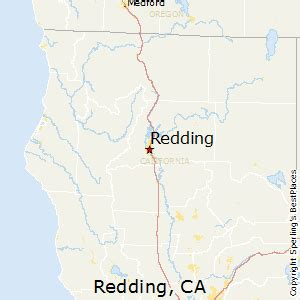 best places to live in redding california