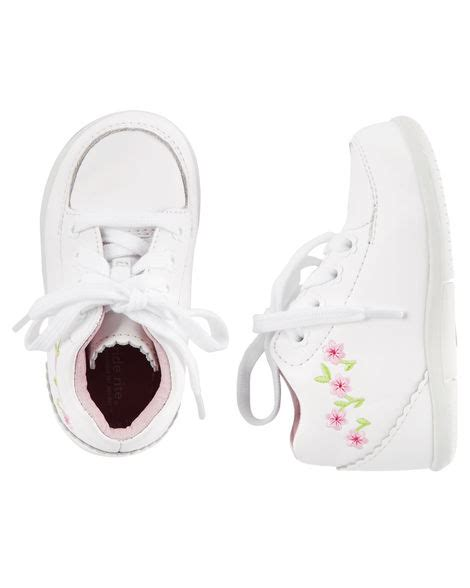carters baby shoes stride rite srt emilia sneakers carters