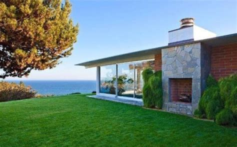 buy a house in malibu brad pitt lists mid century modern beach house in malibu