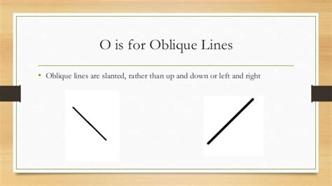 oblique lines abc math book