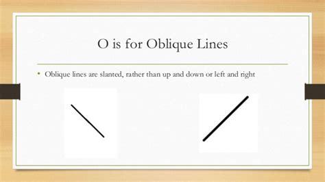 oblique lines abc math book