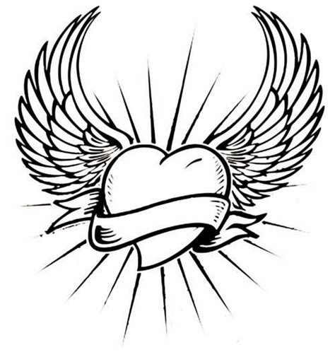 simple angel tattoos 37 best drawings for stencil images on
