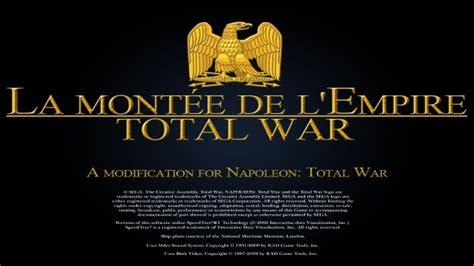 lme de napolon french b00ed7y3tk napoleon total war mac la montee de l empire lme a major modification mod napoleonic wars