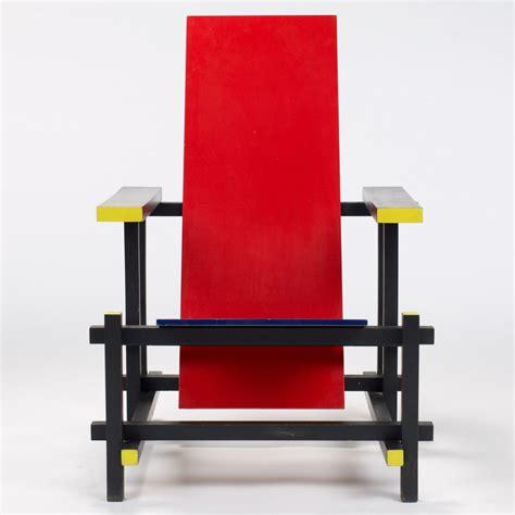 rietveld sedia gerrit rietveld blue chair