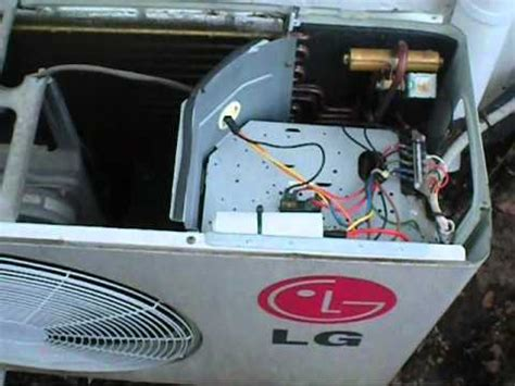 how to replace split ac capacitor lg run cap replacement