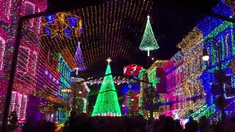 christmas lights disney hollywood studios 2014 youtube