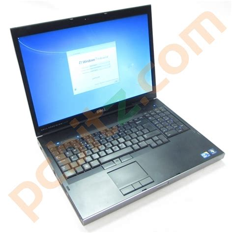 Laptop Dell M6500 dell precision m6500 i7 q720 1 60ghz 12gb 120gb ssd 750gb hdd 17 3 laptop refurbished laptops