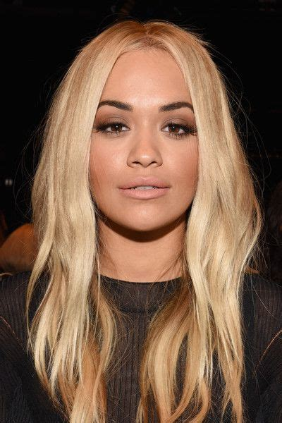 western singers blonde highlight hairstyles vera wang collection front row spring 2016 new york