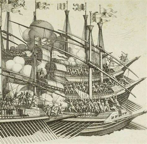 ottoman navy ships 16th century ottoman warships involved in a naval battle