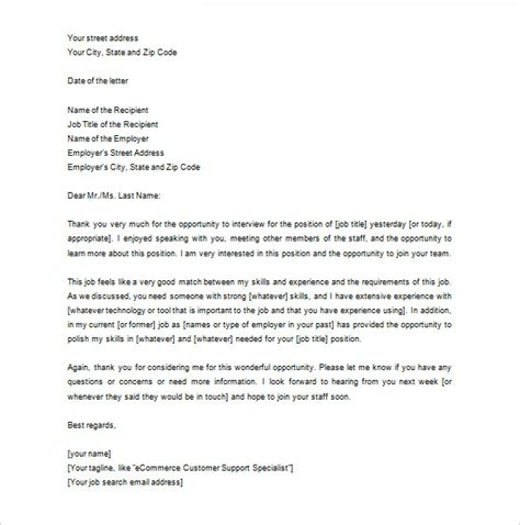 appreciation letter to recruitment agency thank you letter to recruiter 10 free sle exle