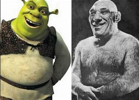 based off of shrek based on a real person