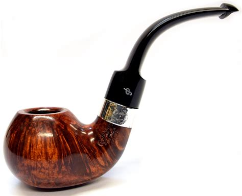how to a pipe l peterson sherlock lestrade silver mounted pipe in a