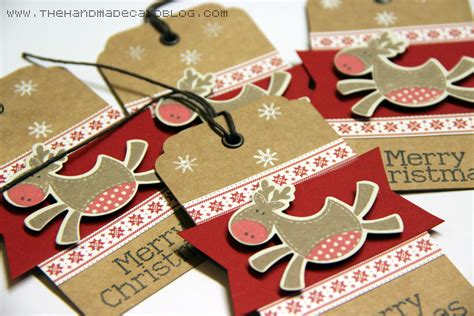 Handmade Blogs - handmade tags the handmade card