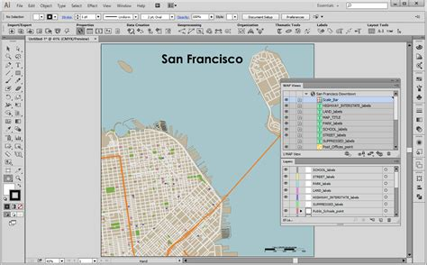 san francisco information map getting started