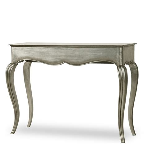 Silver Sofa Table Fusion Designs Antique Style Silver Console Table By