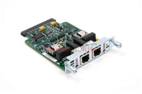 Cisco Vic 2fxo Two Port Fxo Vic Voice Interface Card Cisco 2 Port Fxo M1 Vic 2fxo M1