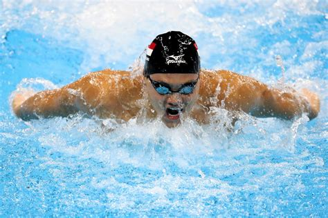 olympic swimming olympic swimming results 2016 joseph schooling beats