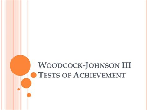woodcock johnson test of cognitive abilities sle report woodcock johnson iii reports recommendations and strategies