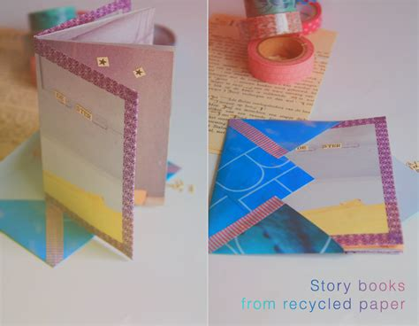 How To Make A Phlet On Paper - diy story book tutorial katlix design