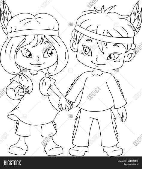 indian boy and girl coloring sheets fun coloring pages