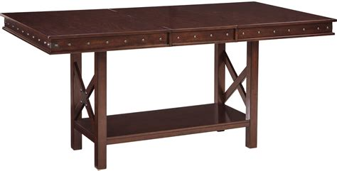 Height Dining Table Collenburg Brown Extendable Counter Height Dining Table D564 32