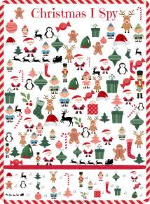 For the holiday season i made this christmas i spy game click here