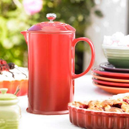 Cook Master Press Plunger Coffee Maker 600 Ml For 6cup le creuset stoneware press 800ml yuppiechef