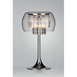 Glass Globe Chandelier Clear Glass Table Lamp Base Lamps Ideas