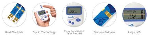 Jual Gula Darah Glucodr Gluco Dr Isi 25 Biosensor 5 jual alat ukur kadar gula glucodr agm 2100 w 25 t