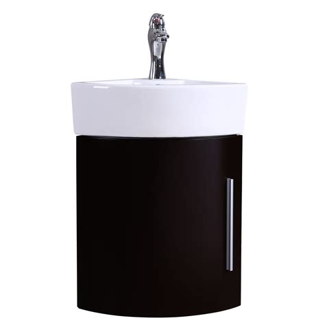 black wall mount sink bathroom black wall mount corner cabinet vanity white sink