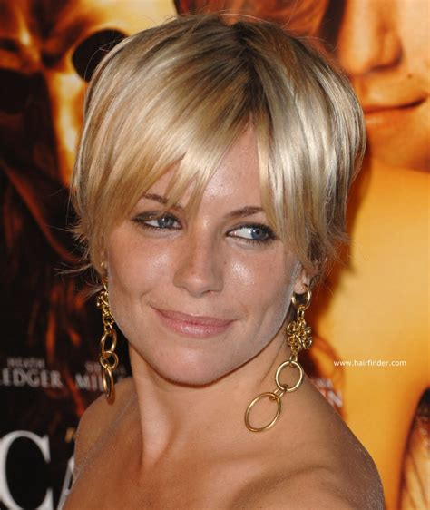 short hairstyles with razor cuts in the back sienna miller shaggy pixie hairstyle razor cut and with