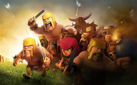 wallpaper laptop clash of clans clash of clans wallpapers weneedfun