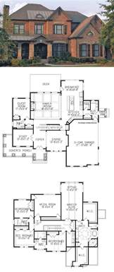 Floor Plans Of Houses Traditional House Plan With 3962 Square Feet And 5