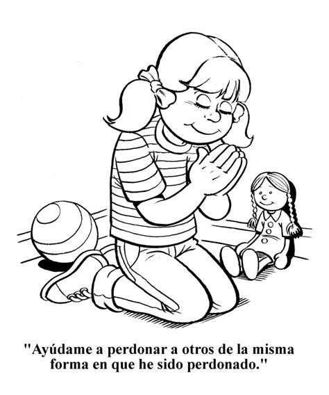 coloring pages jesus forgives ay 250 dame a perdonar a otros p 225 para colorear