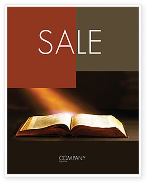 templates for sale posters holly book sale poster template in microsoft word