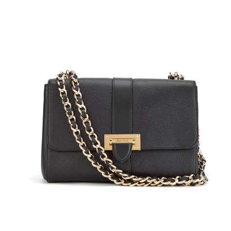 Other Designers Purse Deal Calvin Klein Textured Calf Shoulder Tote by Aspinal Of S Large Lottie Bag Black