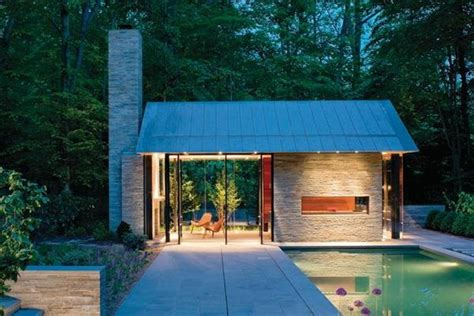 Pavillon Pool by Pool Pavilion Residential Architecture