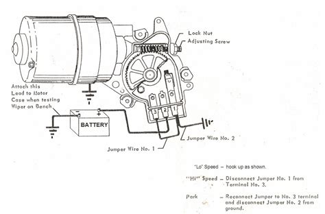 59 chevy wiper switch wiring diagram wiper motor wiring