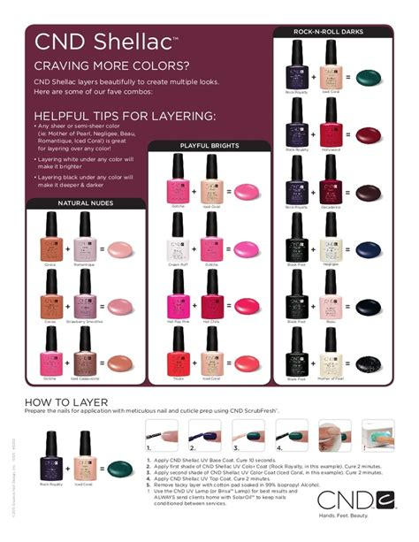 most popular shellac colors shellac combos shellac cdn pinterest shellac colors