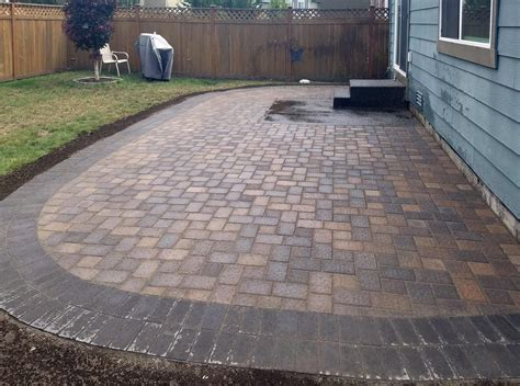 Paver Patio Over Concrete Slab Modern Patio Outdoor How To Cover A Concrete Patio With Pavers