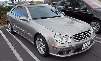 2003 mercedes clk55 amg 2 door coupe luxury sports