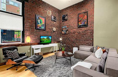 brick wall in living room 60 stunning modern living room ideas photos designing idea